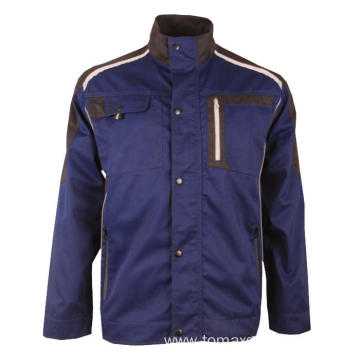 Teflon 65% polyester 35% cotton blue jacket